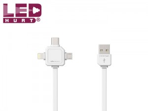 Power USB Cable - Kabel USB data 3w1
