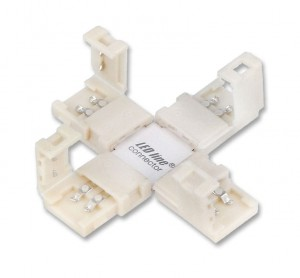 Łącznik kątowy CONNECTOR CLICK do taśm 8mm 2 pin typ +