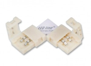 Łącznik kątowy CONNECTOR CLICK do taśm 8mm 2pin typ L
